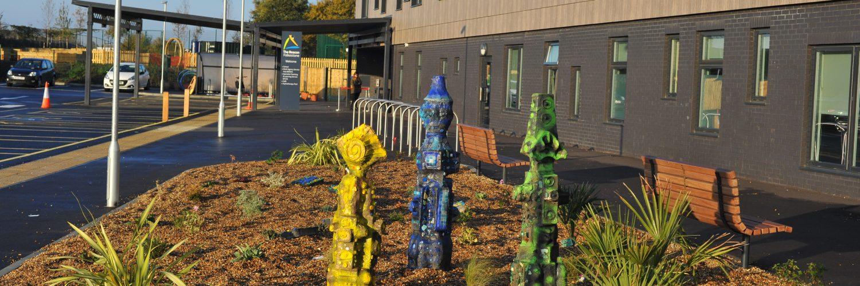 Front Garden The Beacon