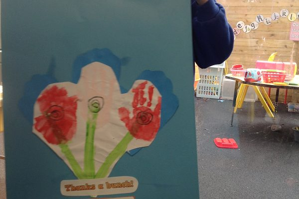 Lovely work using the colour red