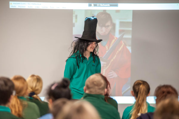 A 'Witch' is introduced to the audience!