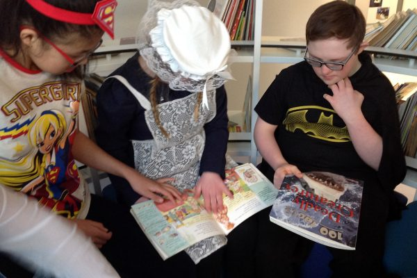 Fabulous sharing of books and stories