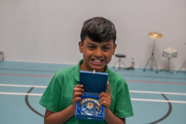 Nafiz happy with his award