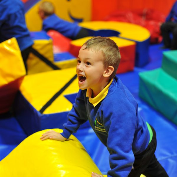 Soft play in Zone 1