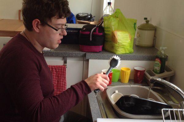 I am great at washing up.
