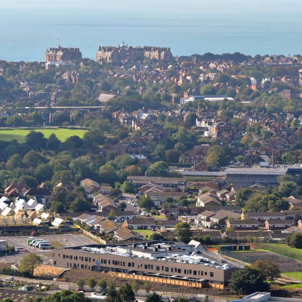 View of Folkestone from Hill